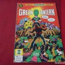 Cómics: GREEN LANTERN Nº 27 ESPECIAL CRISIS ESPECIAL DC ZINCO LINTERNA VERDE. Lote 274849568