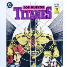 Comics : LOS NUEVOS TITANES 16. ¡WILDBEEST ATACA! (WOLFMAN / PÉREZ) ZINCO, 1990. CON POSTER. OFRT. Lote 274854408