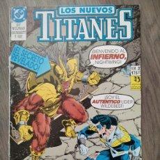 Cómics: LOS NUEVOS TITANES VOL.2 NUM 37 DE ZINCO. PROCEDE DE RETAPADO. Lote 274931783