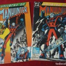 Cómics: UNIVERSO DC NºS 5 Y 6 MANHUNTER COMPLETA ( OSTRANDER RICE KIETH ) DC ZINCO. Lote 275096503