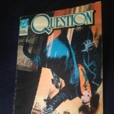 Cómics: THE QUESTION 1. ZINCO. Lote 275156333