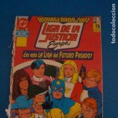 Cómics: COMIC DE LA LIGA DE LA JUSTICIA ARMAGEDDON 2001 EUROPA AÑO 1991 Nº 12 DE EDICIONES ZINCO LOTE 23 F. Lote 275230798