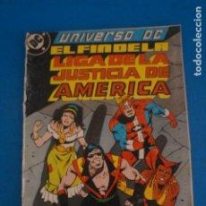 Cómics: COMIC DE EL FIN DE LA LIGA DE LA JUSTICIA DE AMERICA AÑO 1989 Nº 3 DE EDICIONES ZINCO LOTE 23 F. Lote 275231458
