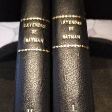 Cómics: LEYENDAS DE BATMAN COMPLETA 2 TOMOS ENCUADERNADOS MUY BUEN ESTADO. Lote 275762508