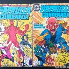 Cómics: PATRULLA CONDENADA RETAPADO 9 AL 12 Y 13 AL 16. Lote 275776563