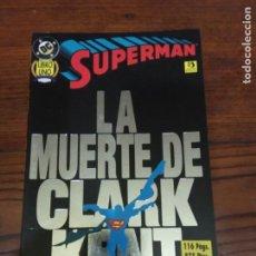 Cómics: SUPERMAN: LA MUERTE DE CLARK KENT VOLUMEN 1.EDICIONES ZINCO.. Lote 276406668