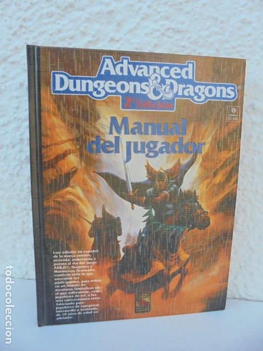 ADVANCED DUNGEONS & DRAGONS. 2º EDICION. MANUAL DEL JUGADOR. EDITORIAL ZINCO 1992. (Tebeos y Comics - Zinco - Otros)