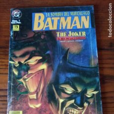 Cómics: BATMAN. LA SOMBRA DEL MURCIELAGO. Nº 1- THE JOKER. EL REY DE COMEDIA. EDICIONES ZINCO.. Lote 276716708