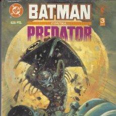 Cómics: BATMAN CONTRA PREDATOR - TOMO 3 - PERFECTO ESTADO. Lote 288597763