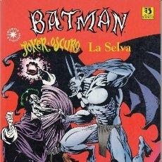Cómics: BATMAN - JOKER OSCURO - LA SELVA - DC COMICS - EDICIONES ZINCO #. Lote 276817018