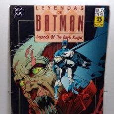 Cómics: LEYENDAS DE BATMAN Nº 25. Lote 276958168