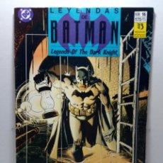 Cómics: LEYENDAS DE BATMAN. Nº 16. VENENO. CAPÍTULO UNO. CONSERVA POSTER. Lote 276958583