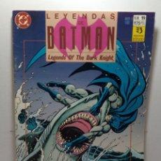 Cómics: LEYENDAS DE BATMAN. Nº 19. VENENO CAPÍTULO CUATRO.. Lote 276958963