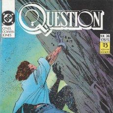 Cómics: THE QUESTION - Nº 36 - ZINCO - MUY BUEN ESTADO !!. Lote 277000613