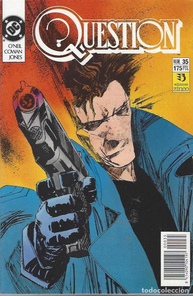 THE QUESTION - Nº 35 - ZINCO - MUY BUEN ESTADO !! (Tebeos y Comics - Zinco - Question)