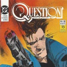 Cómics: THE QUESTION - Nº 35 - ZINCO - MUY BUEN ESTADO !!. Lote 277000768