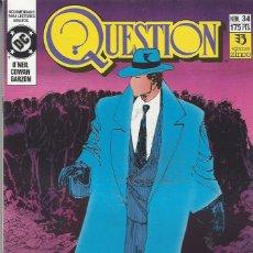Cómics: THE QUESTION - Nº 34 - ZINCO - MUY BUEN ESTADO !!. Lote 277000863