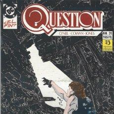 Cómics: THE QUESTION - Nº 31 - ZINCO - MUY BUEN ESTADO !!. Lote 277001008