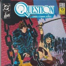 Cómics: THE QUESTION - Nº 29 - ZINCO - MUY BUEN ESTADO !!. Lote 277001183