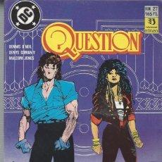 Cómics: THE QUESTION - Nº 27 - ZINCO - MUY BUEN ESTADO !!. Lote 277001333