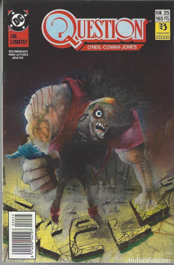 THE QUESTION - Nº 25 - ZINCO - MUY BUEN ESTADO !! (Tebeos y Comics - Zinco - Question)