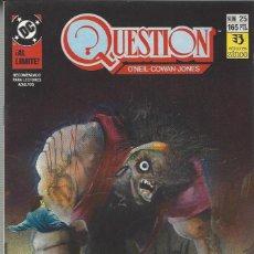 Cómics: THE QUESTION - Nº 25 - ZINCO - MUY BUEN ESTADO !!. Lote 277001443