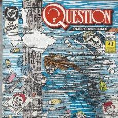 Cómics: THE QUESTION - Nº 24 - ZINCO - MUY BUEN ESTADO !!. Lote 277001513