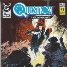 Cómics: THE QUESTION - Nº 23 - ZINCO - MUY BUEN ESTADO !!. Lote 277001573