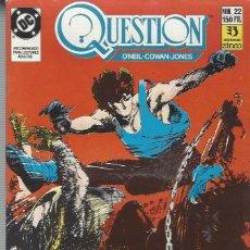 Cómics: THE QUESTION - Nº 22 - ZINCO - MUY BUEN ESTADO !!. Lote 277001658