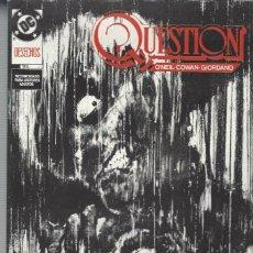 Cómics: THE QUESTION - Nº 21 - ZINCO - MUY BUEN ESTADO !!. Lote 277002148