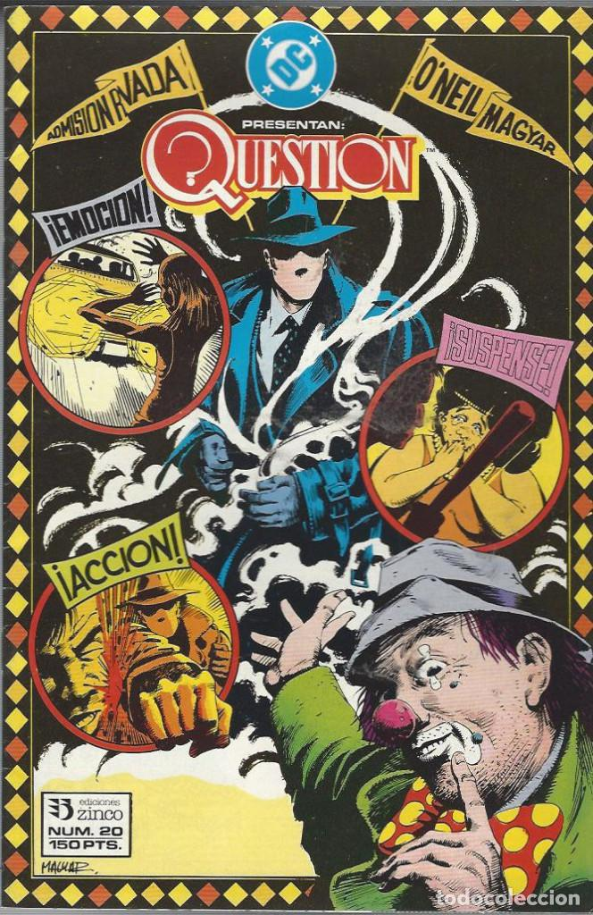 THE QUESTION - Nº 20 - ZINCO - MUY BUEN ESTADO !! (Tebeos y Comics - Zinco - Question)