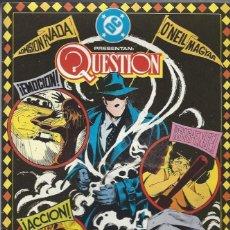 Cómics: THE QUESTION - Nº 20 - ZINCO - MUY BUEN ESTADO !!. Lote 277002218