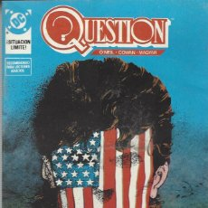 Cómics: THE QUESTION - Nº 14 - ZINCO - MUY BUEN ESTADO !!. Lote 277002393