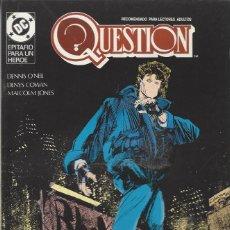 Cómics: THE QUESTION - Nº 15 - ZINCO - MUY BUEN ESTADO !!. Lote 277002928