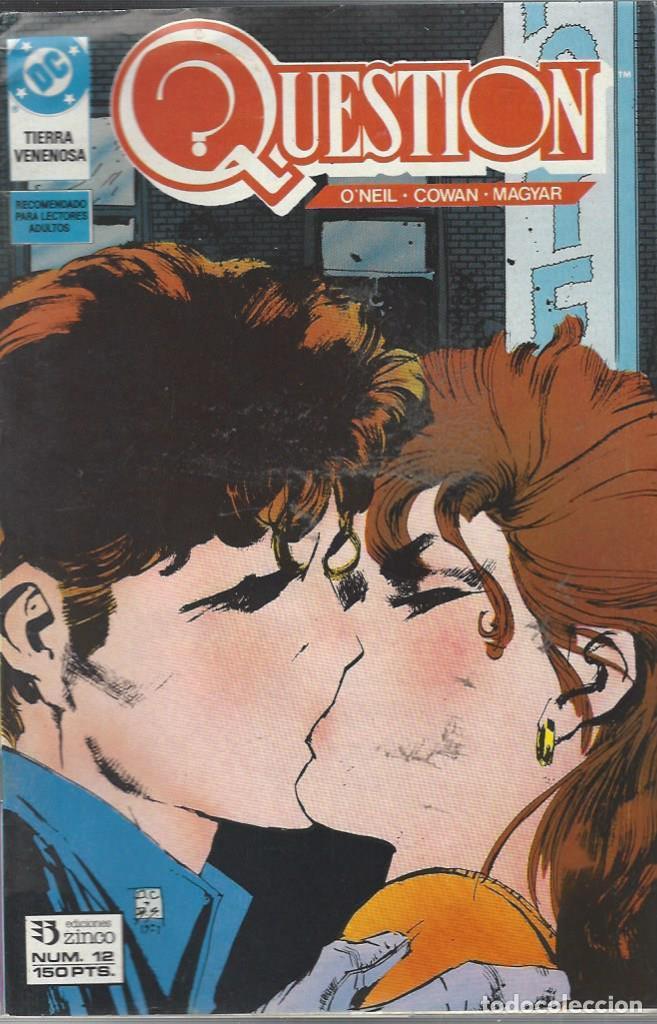 THE QUESTION - Nº 12 - ZINCO - MUY BUEN ESTADO !! (Tebeos y Comics - Zinco - Question)