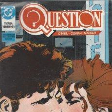 Cómics: THE QUESTION - Nº 12 - ZINCO - MUY BUEN ESTADO !!. Lote 277003078