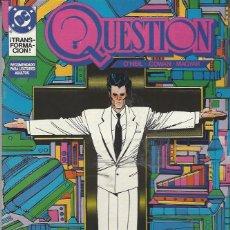 Cómics: THE QUESTION - Nº 11 - ZINCO - MUY BUEN ESTADO !!. Lote 277003133