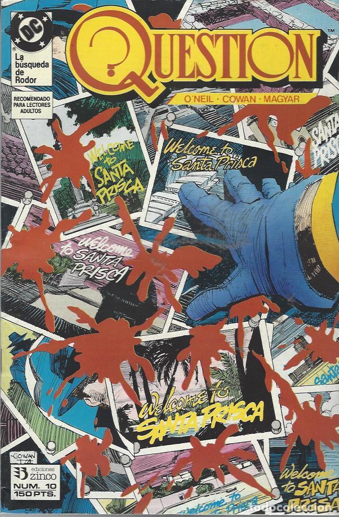 THE QUESTION - Nº 10 - ZINCO - MUY BUEN ESTADO !! (Tebeos y Comics - Zinco - Question)