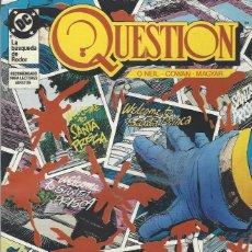 Cómics: THE QUESTION - Nº 10 - ZINCO - MUY BUEN ESTADO !!. Lote 277003208
