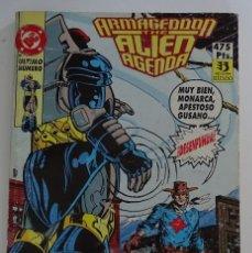 Fumetti: COMIC DE ARMAGEDDON THE ALIEN AGENDA DC (NÚMEROS DEL 13 AL 15) - EDICIONES ZINCO. Lote 277045643