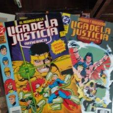 Cómics: LOTE LIGA JUSTICIA EDICIONES ZINCO. Lote 277048203