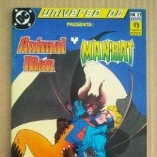 Cómics: UNIVERSO DC N°21: ANIMAL MAN/MANBAT (ZINCO, 1989). STRNAD, NOWLAN, MORRISON, GRUMMETT, THOMAS.... Lote 277056938