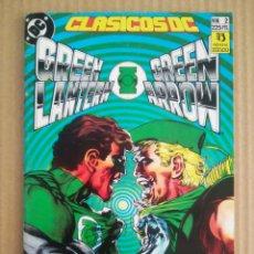 Cómics: CLÁSICOS DC N°2: GREEN LANTERN/GREEN ARROW (ZINCO, 1990). ENGLEHART, SIMONSON, HANEY, ADAMS Y O'NEIL. Lote 277057093