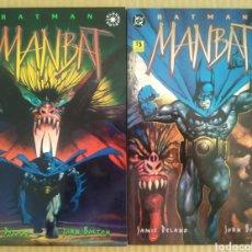 Cómics: LOTE BATMAN: MANBAT / LIBROS 1 Y 2, POR JAMIE DELANO Y JOHN BOLTON (ZINCO, 1996). ELSEWORLDS.. Lote 277057533