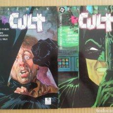 Cómics: LOTE BATMAN: THE CULT / LIBROS 3 Y 4, POR JIM STARLIN Y BERNI WRIGHTSON (ZINCO, 1989).. Lote 277057768