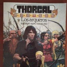 Cómics: COMIC : THORGAL - LOS ARQUEROS . ROSINSKI Y VAN HAMME. Lote 277067993
