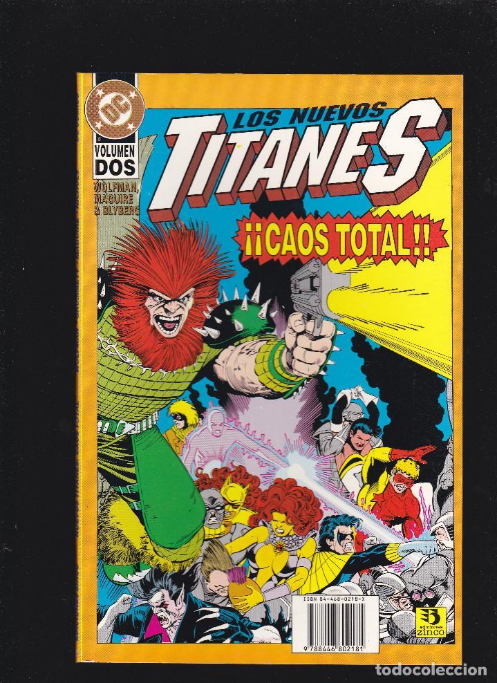 LOS NUEVOS TITANES - CAOS TOTAL - Nº 2 DE 2 - DC - ZINCO - (Tebeos y Comics - Zinco - Otros)