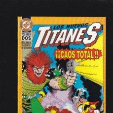 Cómics: LOS NUEVOS TITANES - CAOS TOTAL - Nº 2 DE 2 - DC - ZINCO -. Lote 277150868