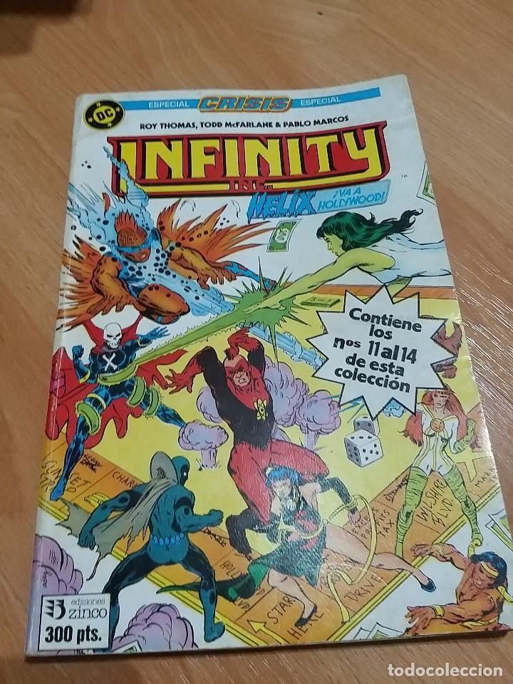 DC INFINITY Nº 3. ED. ZINCO. AÑOS 80 (Tebeos y Comics - Zinco - Infinity Inc)