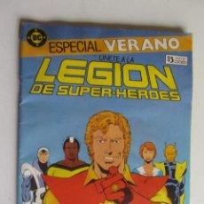 Cómics: ESPECIAL VERANO LEGIÓN DE SUPER HEROES. EDICIONES ZINCO 1987 ARX79. Lote 277252993